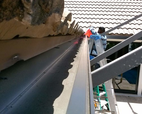 Aaa Pro Screening Inc Gutter Repair Installation No Leak Right Slope
